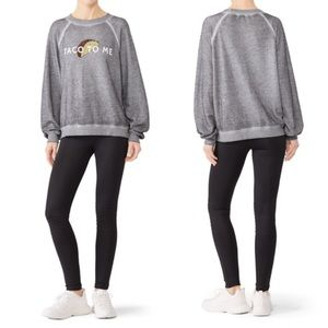 NWT Wildfox Taco To Me Oversized Pullover Sweater